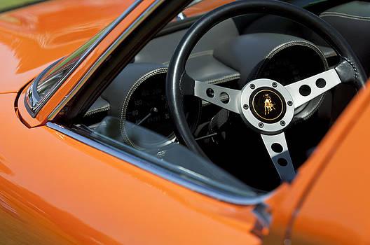 Jill Reger - 1970 Lamborghini Miura S Steering Wheel Emblem
