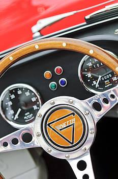Jill Reger - 1972 Ginetta Steering Wheel Emblem
