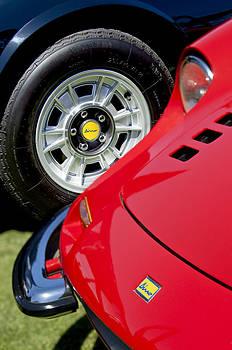 Jill Reger - 1973 Ferrari 246 GTS Dino Emblem 5