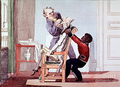 Science Source - 19th Century Dentistry Tooth Extraction