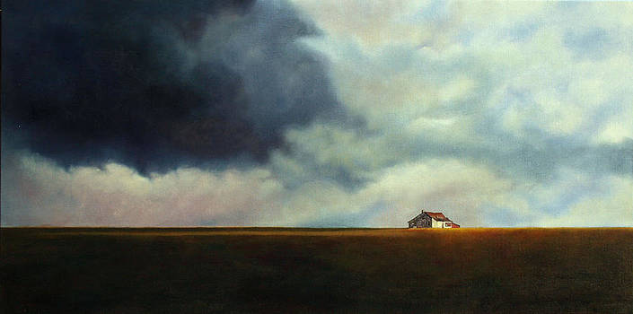 1st Place - Countyside Art Exhibition - Stormchaser  by Carrie Goller