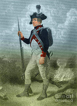 Photo Researchers - American Continental Soldier