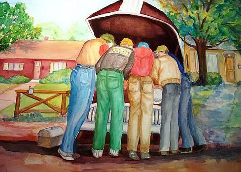 Backyard Mechanics by AnnE Dentler