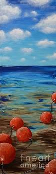 Beach Buoys by Holly Donohoe