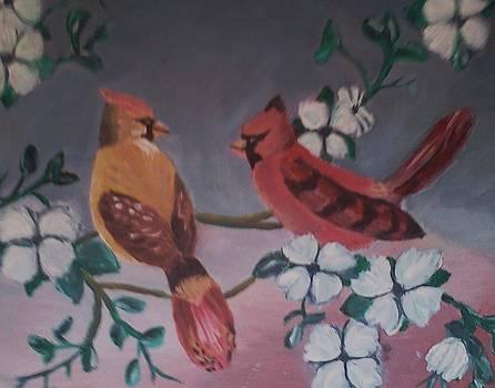 2 Birds by Christy Saunders Church