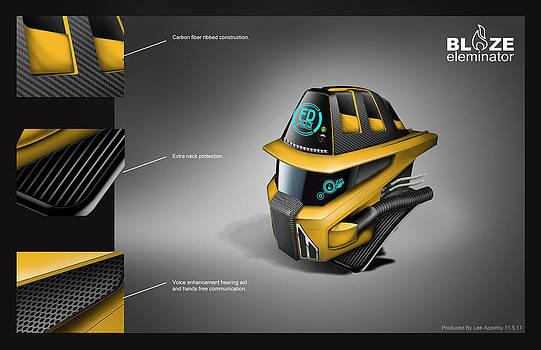 BLAZE eleminator freelance project by Appleby Design