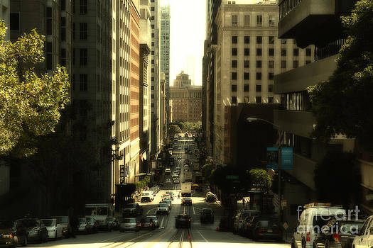 Wingsdomain Art and Photography - California Street in San Francisco