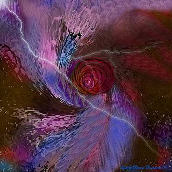 Creation Of A Rose  by Spirit Dove  Durand