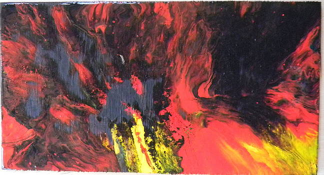 Explosion by Gilberte Figaroli