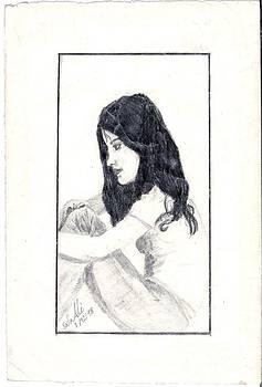 Girl by Safa Al-Rubaye