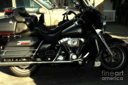 Wingsdomain Art and Photography - Harley-Davidson Motorcycle . 7D10793