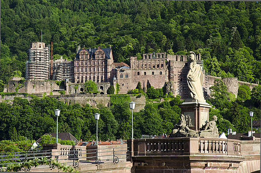 Heidelberg  castle by Travel Images Worldwide