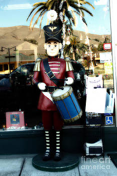 Wingsdomain Art and Photography - Historic Niles District in California Near Fremont . Little Drumer Boy at The Vine . 7D10691