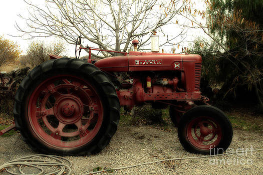 Wingsdomain Art and Photography - International Harvester McCormick Farmall Farm Tractor . 7D10320