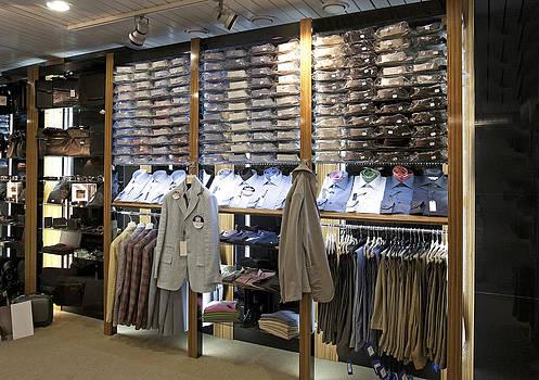 Italian Mens Fashion Shop In Tallinn by Jaak Nilson