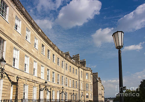 Lansdown Crescent by Andrew  Michael