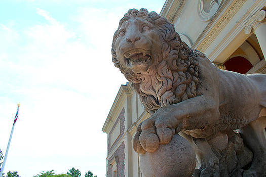 Lion Sculpture by Robbie Basquez