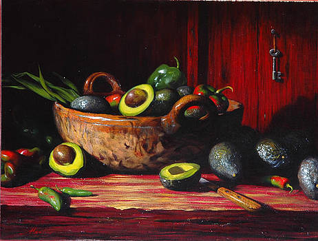Los Aguacates by William Martin