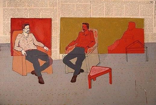 2 Men by Molood Mazaheri