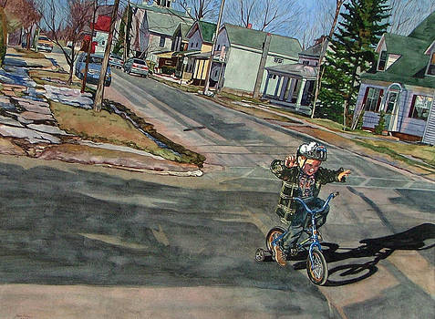 No Hands by Valerie Patterson