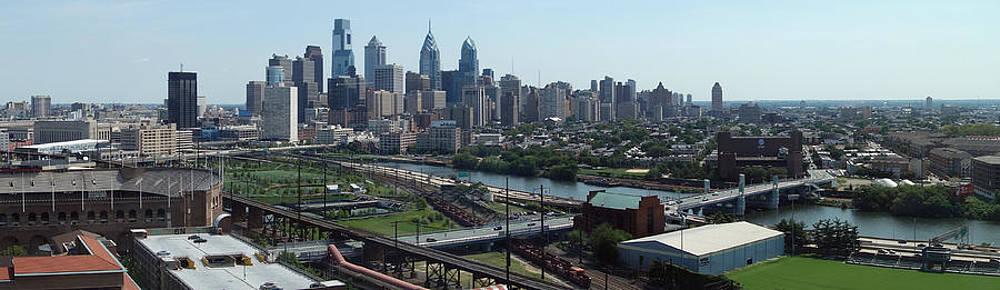 Philadelphia Skyline by Gregory Grant
