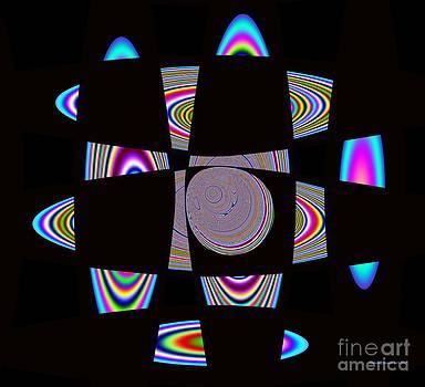 Planetary Ring's Maze by Deborah Juodaitis