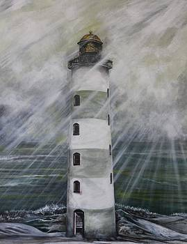 Point Lookout Lighthouse by Anne Buffington