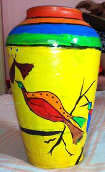 Pottery Painting by Sonali Singh