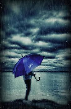 Rain Day by Heather  Rivet