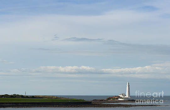 Saint Marys Lighthouse by Andrew  Michael