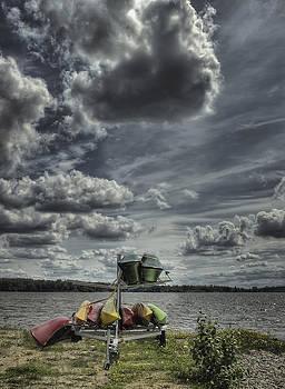 The Canoe Rental by Heather  Rivet
