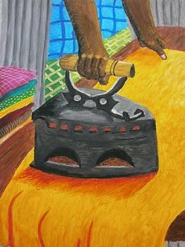 The Dhobi's Iron  by Adam Wai Hou