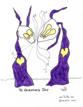 Tis Valentine's Day by Tis Art