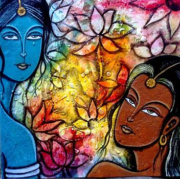 Two Women by Keshaw Kumar