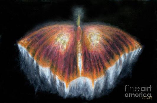 UFObutterlyorange by Michelle Cavanaugh-Wilson