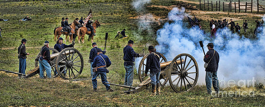 Union Artillery by Alan Crosthwaite