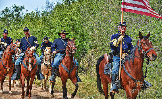 Union Cavalry by Alan Crosthwaite
