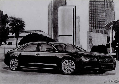 2012 Audi A8L by Radoslaw Chroscinski