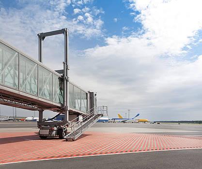 Tallinn Airport In Estonia by Jaak Nilson