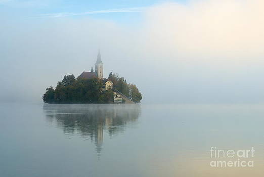Island of Bled by Tomaz Kunst