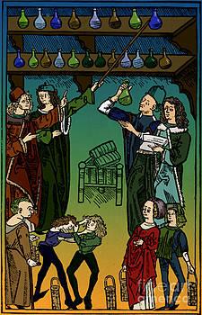 Science Source - Medieval Italian Pharmacy