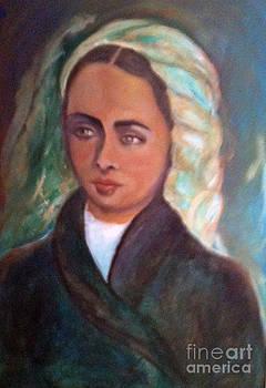 St. Bernadette  by Suzanne Reynolds