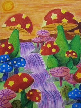 The Enchanted Mushroom Forest by Adam Wai Hou