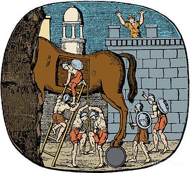 Photo Researchers - Trojan Horse