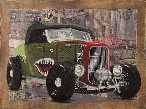 32 Ford Roadster Warhawk by Josh Bernstein