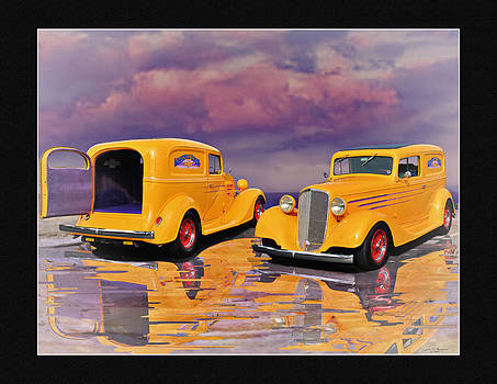 34 Chevy sedan delivery by John Breen