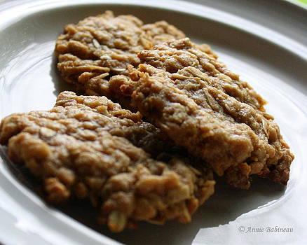 Anne Babineau - Anzac biscuits