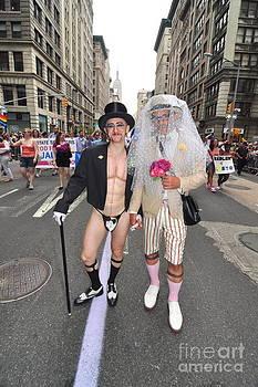 Mark Gilman - Gay Pride Couples NYC 2011