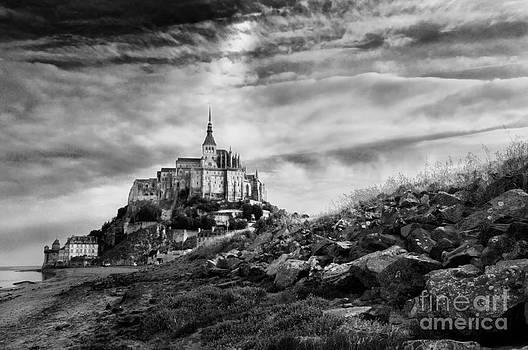 Mont-Saint-Michel France by Laurent Lucuix