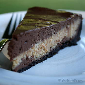 Anne Babineau - peanut butter chocolate cheesecake